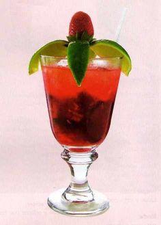 Cocktail de frutas para navidad