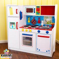 kid craft play kitchen