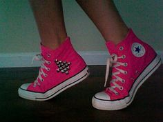 studded converses done at home