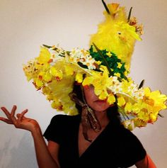 Homemade Crazy Hats | Myleene Klass gets into Easter spirit with giant hat covered in chicks