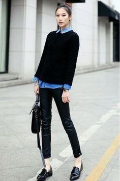 Denim su denim o con shorts? Ecco 5 suggerimenti su come abbinare la camicia di jeans! #fashionmodels,