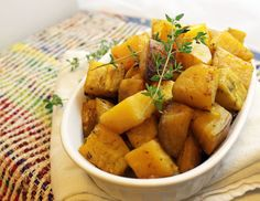honey thyme roasted golden beets