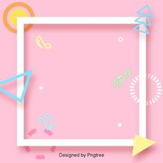 Stylish and simple border design PNG and Vector Badge Design, Flyer Design, Simple Borders, Powerpoint Design Templates, Easy Frame, Music Backgrounds, Wallpaper Backgrounds, Instagram Frame, Wedding Background