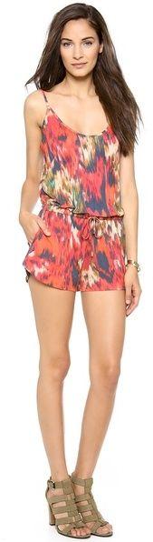#SALE Haute Hippie Short Drawstring Romper on shopstyle.com