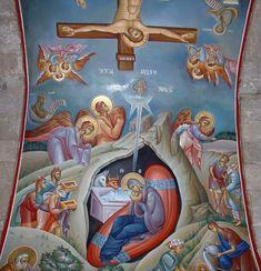 Gif Photo, Church Interior, Byzantine Icons, Religious Icons, Betrayal, Murals, Holi, Scene, Places