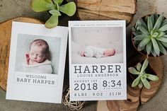 Baby Announcements: Born Yesterday - Design Aglow - 8