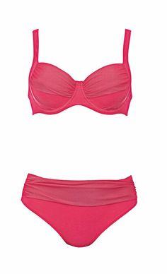 Bikini Floral Parade Pink