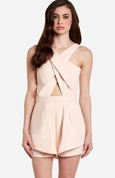 Finders Keepers Like Smoke Playsuit in rose S