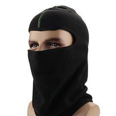 Balaclava Cap Full Face Ski Mask and Neck Warmer Cold Weather Face Mask for Skiing, Snowboarding, Motorcycling and Winter Sports (black) -- Be sure to check out this awesome product.