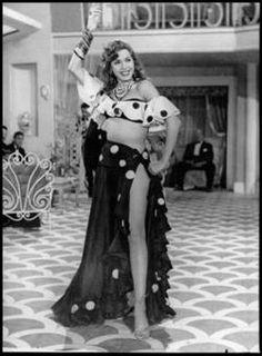 STYLE ICON: Egyptian dancer and film actress Samia Gamal (1924-1994)