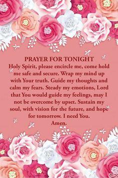 Good Prayers, Good Night Blessings, Special Prayers, Prayers For Healing, Powerful Prayers, Good Night Prayer Quotes, Good Morning Prayer, Good Night Messages, Morning Prayers