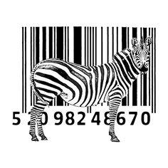Zebra code tee