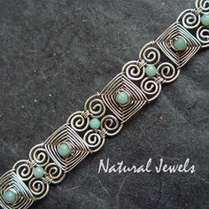 Tutorial 26 pulsera India por NaturalJewels en Etsy