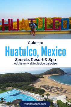 Travel guide to Huatulco, Mexico: Sample itinerary, advice, and recommendations from real travelers. Review of the beautiful Secrets Huatulco Resort & Spa, including excursions to Cascadas de Llano Grande, La Crucecita & a catamaran cruise.