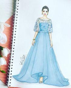 Fashion design dress runway Ideas for 2019 Dress Design Drawing, Dress Design Sketches, Fashion Design Sketchbook, Dress Drawing, Fashion Design Drawings, Fashion Sketches, Drawing Sketches, Dress Designs, Drawing Art