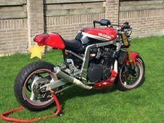www.marktplaats.nl/motoren-suzuki/caferacer-suzuki-ruilen-intruder-1400 Origineel: Suzuki GSX-1100R Bouwjaar: ...