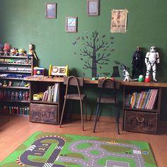 親子でお気に入り!かっこいい男子部屋を作っちゃおう | RoomClip mag | 暮らしとインテリアのwebマガジン