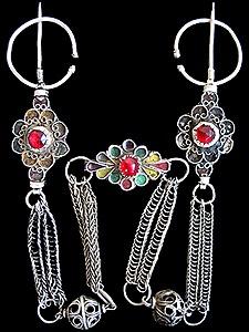 Berber Silver Fibulae
