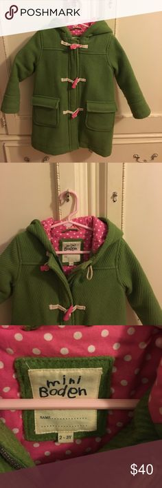 Mini Boden wool coat size 2-3y Mini boden wool coat great condition!!! Mini Boden Jackets & Coats