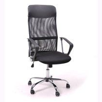 Super Comfortable Office Chair in Black High Back