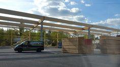 Holzhallenbau von MCB www.zimmerei-massivholzbau.de
