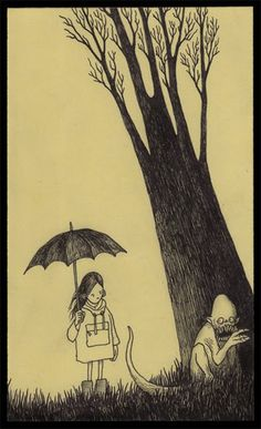 John Kenn Mortensen's Post-It Monstres.  Lovely and witty.