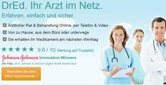 DrEd.com: Ihr Arzt im Netz.
