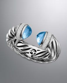#DavidYurman Waverly Bracelet with Blue Topaz