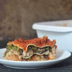 Hearty Portobello Kale Lasagna