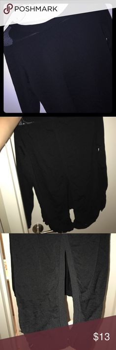 Long sleeve black sweater You can button the back so the back is open long sleeve black sweater Sweaters