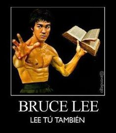 Si Bruce Lee, ¿No va
