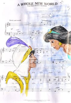 A Whole New World-I love this song I think it's one of the best Disney songs xx