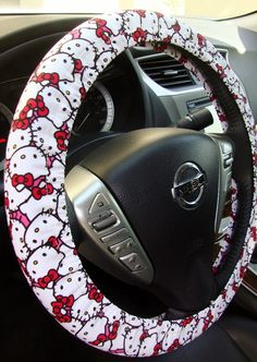 Hey, I found this really awesome Etsy listing at https://www.etsy.com/listing/99761663/handmade-steering-wheel-cover-hello