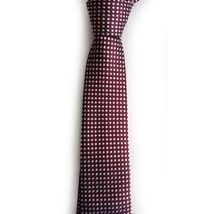 #ebay men ERMENEGILDO Zegna men slim dress silk red with dots tie made in Italy NEW withing our EBAY store at  http://stores.ebay.com/esquirestore