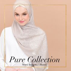 We called this scarf PURE is simply because it's the reborn of our famous semi-instant Madison Classic. There will be no more reproduction of plain Madison Classic after this, however, we are adding shawl edition to the family! Are you a shawl lover? Do you have friends who love to wear shawls? Comment below and tag them 😘