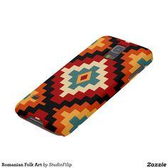 Romanian Folk Art Galaxy S5 Covers