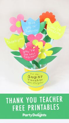 Looking for a fun way to thank your child's favourite teacher for all their hard work this year? We've got lots of lovely ideas for you, including free printable gift tags! Thank You Teacher Gifts, Best Teacher Gifts, Teacher Favorite Things, Your Teacher, Free Printable Gift Tags, Free Printables, Cool Gifts, Your Child, Hard Work