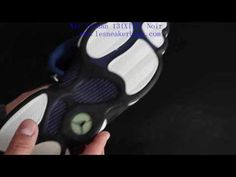 watch e01e0 9720b Air Jordan 13 (XIII) Original (OG) Low - Navy   Silver Metallic - Noir -  Bleu Carolina. Jordan 13Basket Pas CherAir ...