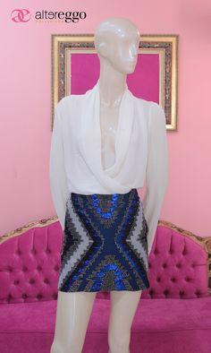 #Falda #brillos #lentejuelas #chaquira #glitters #moda #fashion