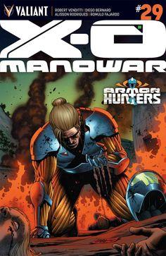 X-O Manowar #29 - Slow Burn (Issue)