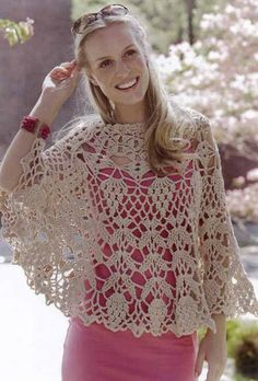 CrafterNews – Spring-Load Your Crochet Hooks by Doris Chan Crochet Poncho Patterns, Crochet Blouse, Crochet Patterns For Beginners, Crochet Shawl, Crochet Lace, Crochet Hooks, Love Crochet, Vintage Crochet, Crochet Capas