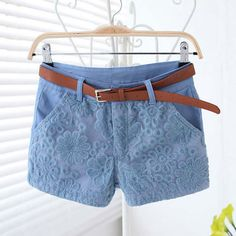 Brand Name: TANGNEST Item Type: Shorts Gender: Women Fit Type: Regular Decoration: Lace,Pockets,Sashes Pant Style: Cross-pant Pattern Type: Solid Style: Casual Waist Type: Mid Material: Cotton,Polyest