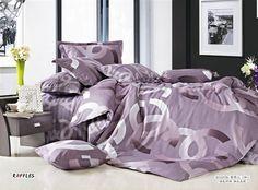 DER KNALLER...........Chanel Paris Bettwäsche günstig billig gut preiswert King Size Seide Baumwolle Bed Set 6 Teilig