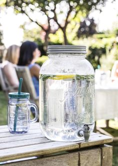 Aladdin Mason Jar Beverage Dispenser, perfect for a crowd