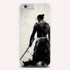 """""""Ronin"""" Phone Case by Nicklas Gustafsson on Artsider - http://www.artsider.com/works/31274-ronin_phone-cases"""