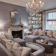 One of my favourite room we designed last year at this Knightsbridge project