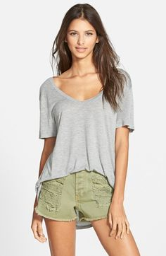 Leith Deep V Tee (2 for $48) | Nordstrom