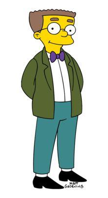 Waylon Smithers (sidekick to Montgomery Burns in The Simpsons)