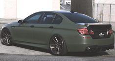 BMW M5 Army Green by R1 Motorsports