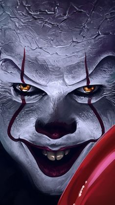 It Chapter Pennywise, Balloons, click image for HD Mobile and Desktop wallpaper resolutions. Horror Wallpapers Hd, Joker Wallpapers, Wallpaper Wallpapers, Horror Drawing, Horror Art, Scary Movies, Horror Movies, Marshmello, Joker Iphone Wallpaper